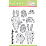 Color Play - Easter Wishes Collection - Clear Photopolymer Stamps