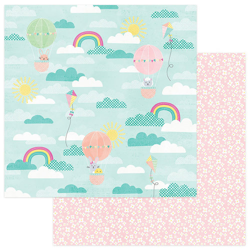 Photo Play Paper - Easter Blessings Collection - 12 x 12 Double Sided Paper - Peeps