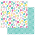 Photo Play Paper - Easter Blessings Collection - 12 x 12 Double Sided Paper - Easter Eggs