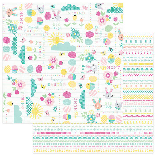 Photo Play Paper - Easter Blessings Collection - 12 x 12 Double Sided Paper - Happy Easter