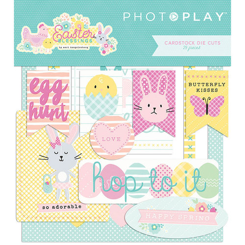 Photo Play Paper - Easter Blessings Collection - Ephemera