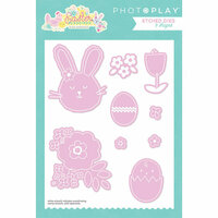 Photo Play Paper - Easter Blessings Collection - Die Set