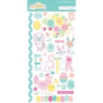 Photo Play Paper - Easter Blessings Collection - Chipboard Stickers
