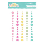 Photo Play Paper - Easter Blessings Collection - Enamel Dots - Matte
