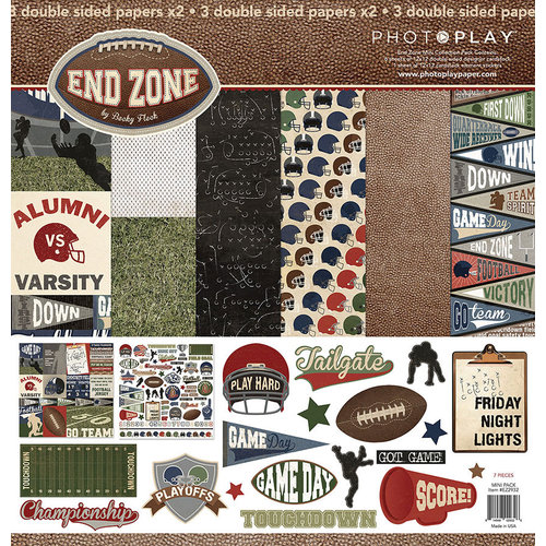 Photo Play Paper - End Zone Collection - 12 x 12 Collection Pack