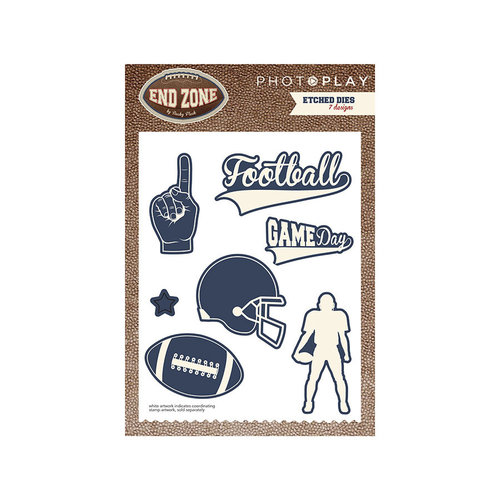 Photo Play Paper - End Zone Collection - Die Set