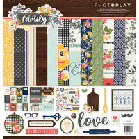 Photo Play Paper - We Are Family Collection - 12 x 12 Collection Pack