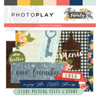 Photo Play Paper - We Are Family Collection - Ephemera