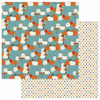 Photo Play Paper - Fall Breeze Collection - 12 x 12 Double Sided Paper - Pumpkin Patch