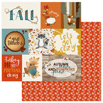 Photo Play Paper - Fall Breeze Collection - 12 x 12 Double Sided Paper - Lets Get Cozy
