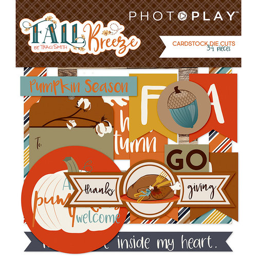 Photo Play Paper - Fall Breeze Collection - Ephemera