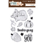Photo Play Paper - Fall Breeze Collection - Clear Acrylic Stamps