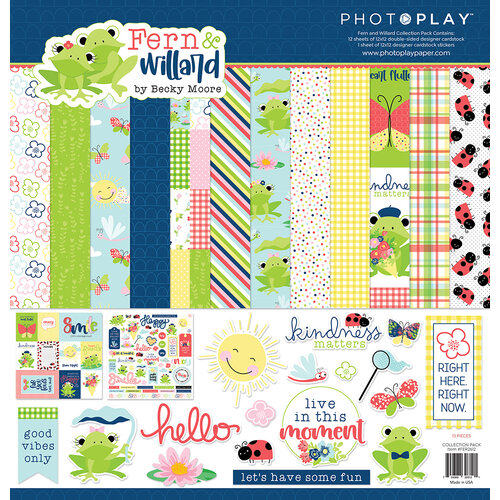 Photo Play Paper - Fern and Willard Collection - 12 x 12 Collection Pack