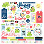 Photo Play Paper - Fern and Willard Collection - 12 x 12 Cardstock Sticker - Elements