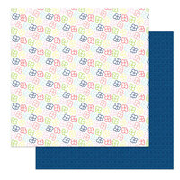 Photo Play Paper - Fern and Willard Collection - 12 x 12 Double Sided Paper - Pocket Full of Posies