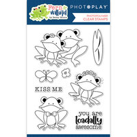 Photo Play Paper - Fern and Willard Collection - Clear Photopolymer Stamps