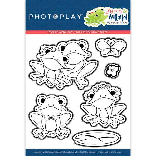 Photo Play Paper - Fern and Willard Collection - Etched Die Set