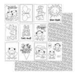Photo Play Paper - Fern and Willard Collection - 12 x 12 Double Sided Paper - Color Me