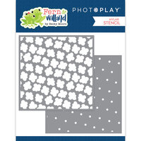 Photo Play Paper - Fern and Willard Collection - 6 x 6 Stencil