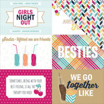 PhotoPlay Paper - Fun With Friends Collection - 12 x 12 Double Sided Paper - 4 x 6 Cards
