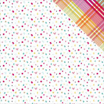 PhotoPlay Paper - Fun With Friends Collection - 12 x 12 Double Sided Paper - Confetti