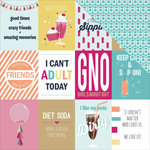 Photo Play Paper - Fun With Friends Collection - 12 x 12 Double Sided Paper - 3 x 4 Cards