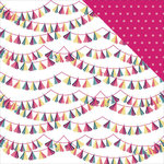 Photo Play Paper - Fun With Friends Collection - 12 x 12 Double Sided Paper - Fringe Banners