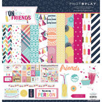PhotoPlay Paper - Fun With Friends Collection - 12 x 12 Collection Pack