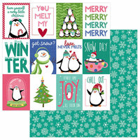 Photo Play Paper - Frosty Friends Collection - Christmas - 12 x 12 Double Sided Paper - Chill Out