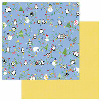Photo Play Paper - Frosty Friends Collection - Christmas - 12 x 12 Double Sided Paper - Snow Day