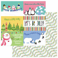 Photo Play Paper - Frosty Friends Collection - Christmas - 12 x 12 Double Sided Paper - Snow Much Fun