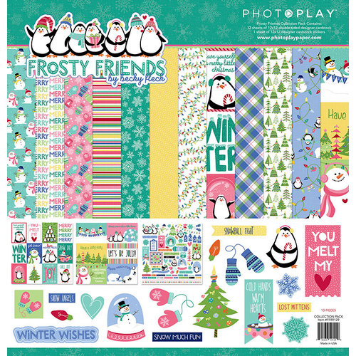 Photo Play Paper - Frosty Friends Collection - Christmas - 12 x 12 Collection Pack
