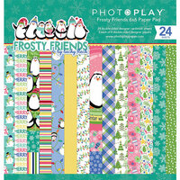 Photo Play Paper - Frosty Friends Collection - Christmas - 6 x 6 Paper Pad