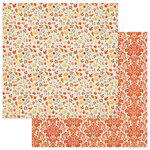 Photo Play Paper - Falling Leaves Collection - 12 x 12 Double Sided Paper - Falling Leaves