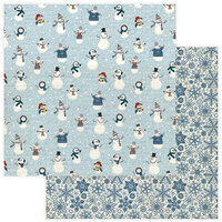Photo Play Paper - For the Love of Winter Collection - 12 x 12 Double Sided Paper - Snow Much Fun