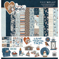 Photo Play Paper - For the Love of Winter Collection - 12 x 12 Collection Pack
