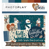Photo Play Paper - For the Love of Winter Collection - Ephemera