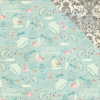 Photo Play Paper - French Flea Market Collection - 12 x 12 Double Sided Paper - Accessories