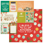 Photo Play Paper - Fresh Picked Collection - 12 x 12 Double Sided Paper - Cards