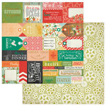 PhotoPlay Paper - Fresh Picked Collection - 12 x 12 Double Sided Paper - Tags