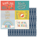 Photo Play Paper - Free Bird Collection - 12 x 12 Double Sided Paper - 4 x 6 Cutapart Cards