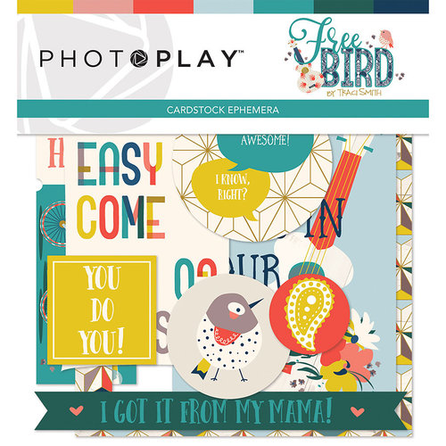 Photo Play Paper - Free Bird Collection - Ephemera