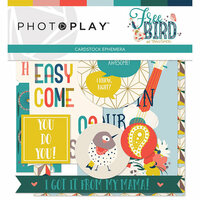 Photo Play Paper - Free Bird Collection - Ephemera