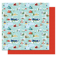 Photo Play Paper - Frostival Collection - 12 x 12 Double Sided Paper - Winter Fun