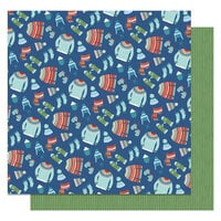 Photo Play Paper - Frostival Collection - 12 x 12 Double Sided Paper - Warm & Cozy