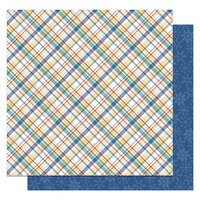 Photo Play Paper - Frostival Collection - 12 x 12 Double Sided Paper - Polar Plunge
