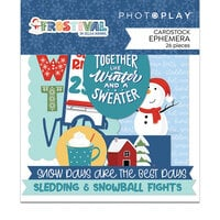 Photo Play Paper - Frostival Collection - Ephemera