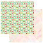 Photo Play Paper - For the Love of Summer Collection - 12 x 12 Double Sided Paper - Good Times