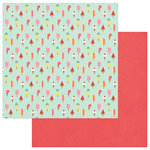 Photo Play Paper - For the Love of Summer Collection - 12 x 12 Double Sided Paper - So Chill