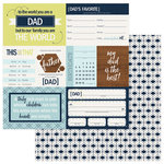 Photo Play Paper - Family Ties Collection - 12 x 12 Double Sided Paper - Dad